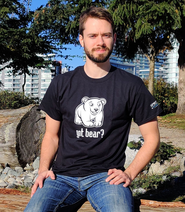 Got Bear? T-shirt - Spirit Bear Coffee Company