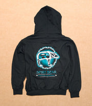 Embroidered Zip Hoodie - Spirit Bear Coffee Company