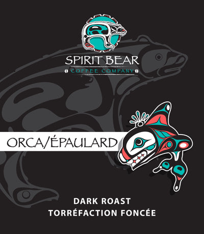 Orca - Dark Roast Coffee - Spirit Bear Coffee Company