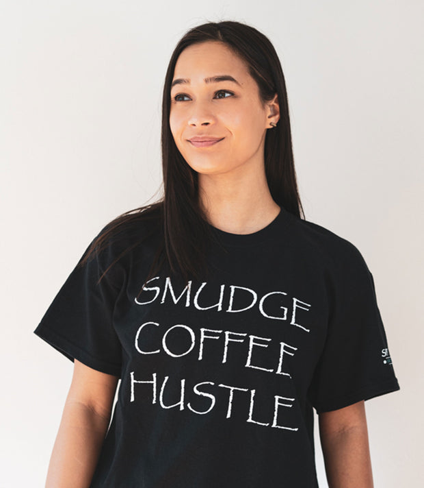 spirit bear coffee smudge hustle