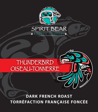 Thunderbird - Dark French Roast Coffee - Spirit Bear Coffee Company