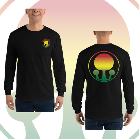 Creme Rasta Long Sleeve Shirt