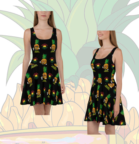 Cruzer Trichome Skater Dress