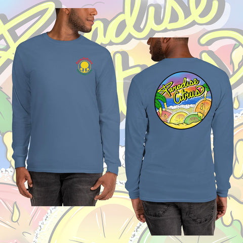 Paradise Citrus Long Sleeve Shirt