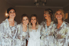 GODDESS WEDDING MAKEUP BRIDESMAIDS