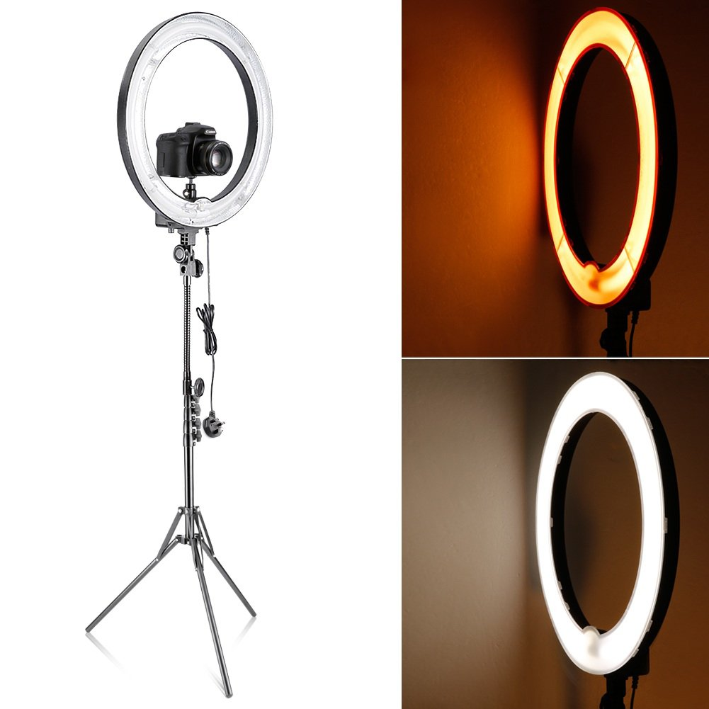 We Love... 18-inch Dimmable Fluorescent Ring Light Kit