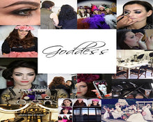 Load image into Gallery viewer, GODDESS MAKEUP CLASSES 1 DAY BESPOKE MAKEUP MASTERCLASS