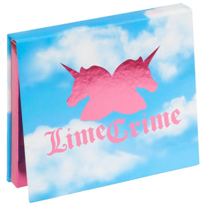We Love... Lime Crime 10th Birthday Eyeshadow Palette.