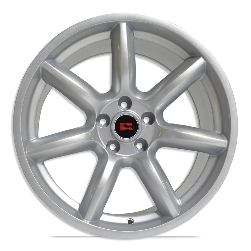 Saleen 'Minilite' Inspired 19x9 Wheels 05-19 Mustang - Silver