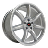 Saleen 'Minilite' Inspired 19x10 Wheels 05-19 Mustang - Silver