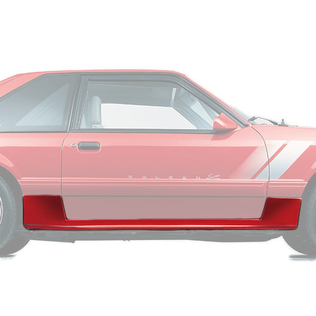 Side Skirt Set, 86-93 Saleen Mustang