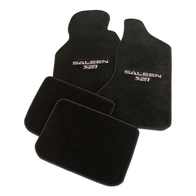 Floormat Set, S281, 96-98 S281 - Black