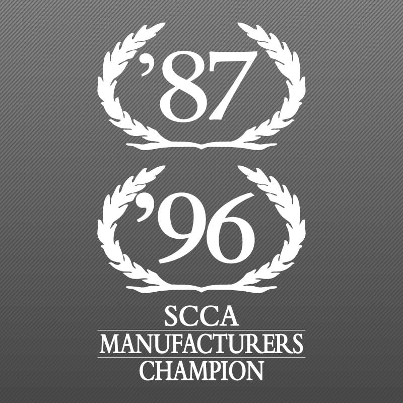 Wreath Decal, SCCA Champion, 1997 S281 S351