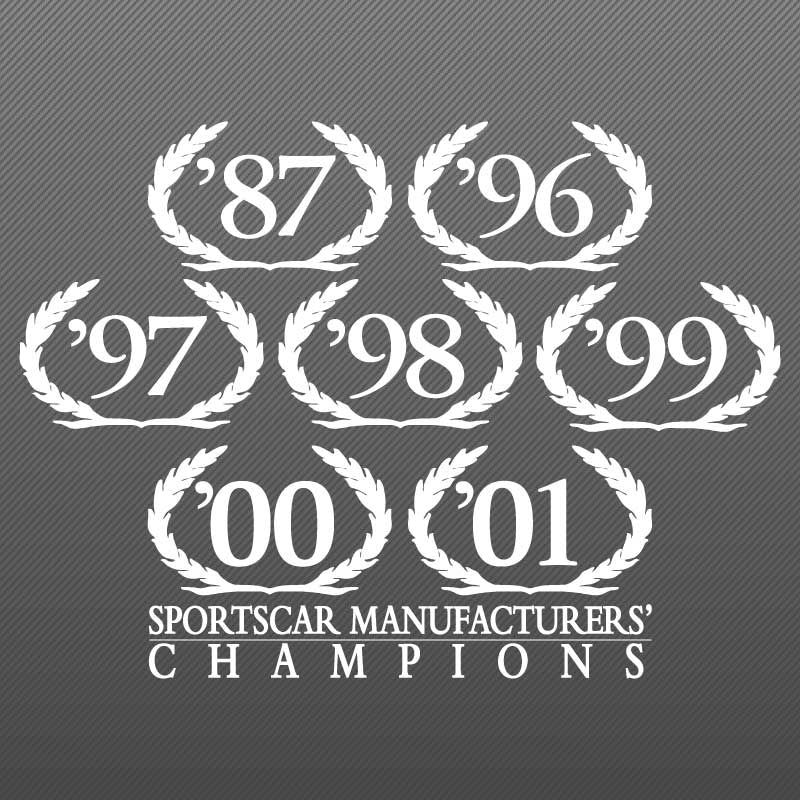 Wreath Decal, SCCA Champion, 2002 S281 S351