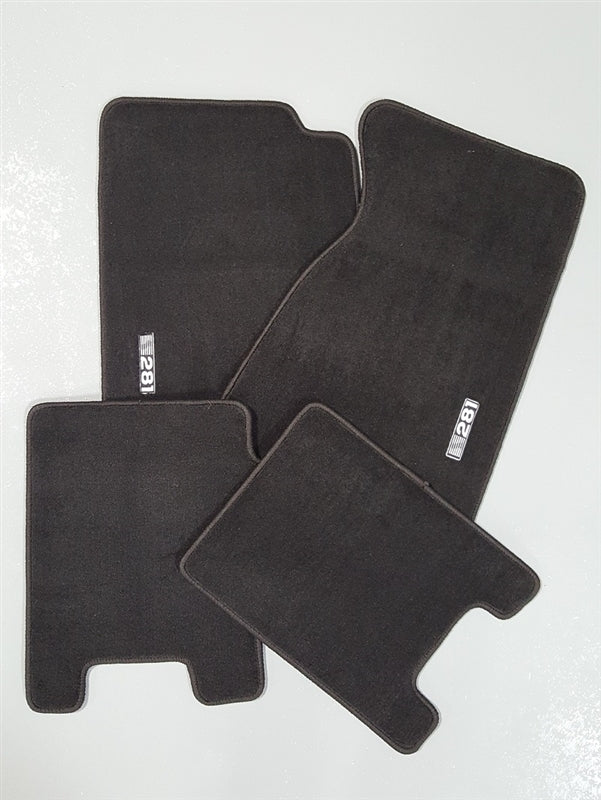 Floormat Set, Convertible, S281, 94-98 S281 - Charcoal