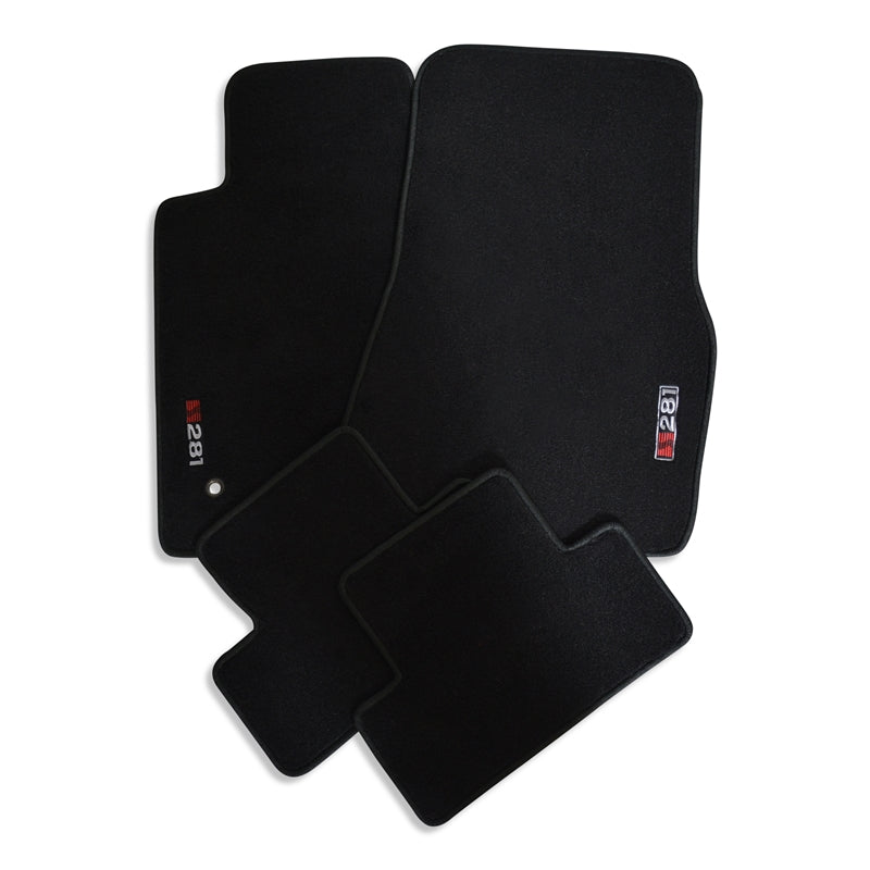 Saleen Floormat Set - Charcoal W/Red S281 Logo - 0