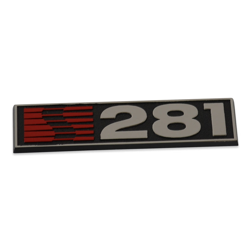 05-09 S281 Fender Badge