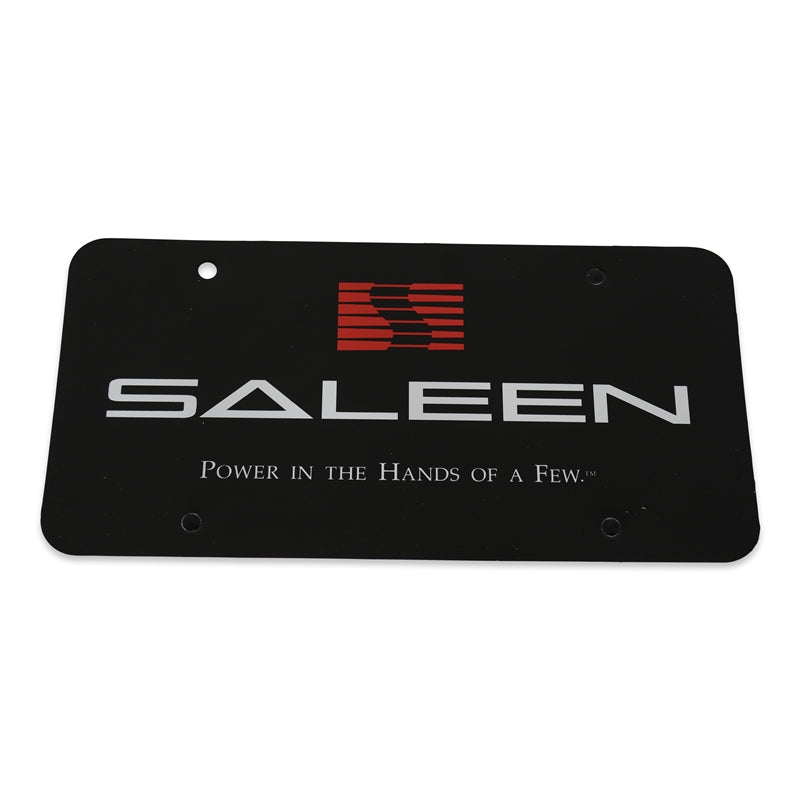Saleen License Plate Insert