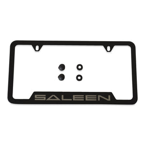 Saleen Logo License Plate Frame, Stainless
