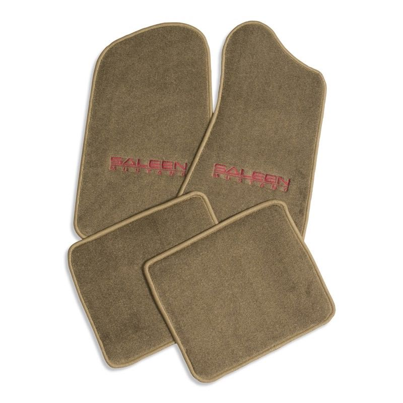 Floormat Set, Saleen Mustang, 87-93 - Tan