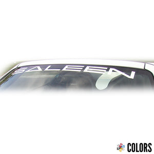 Windshield Banner, Saleen, 99-04 S281 S351
