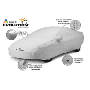 Gray Evolution Saleen S302 Car Cover 2010-14