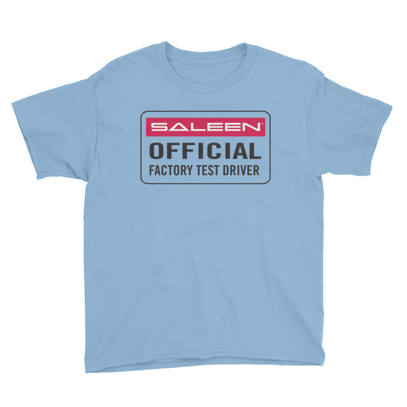 Test Driver Youth Short Sleeve T-Shirt