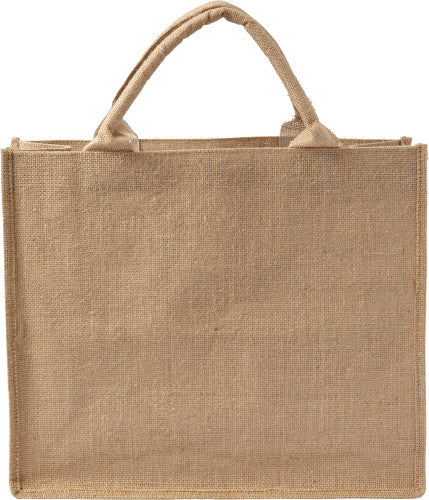 Jute carry/shopping bag