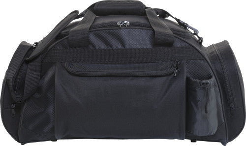 Sports/travel bag in a 600D polyester.