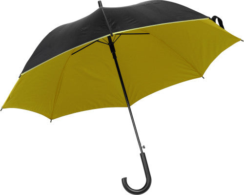 Umbrella which opens automatically.