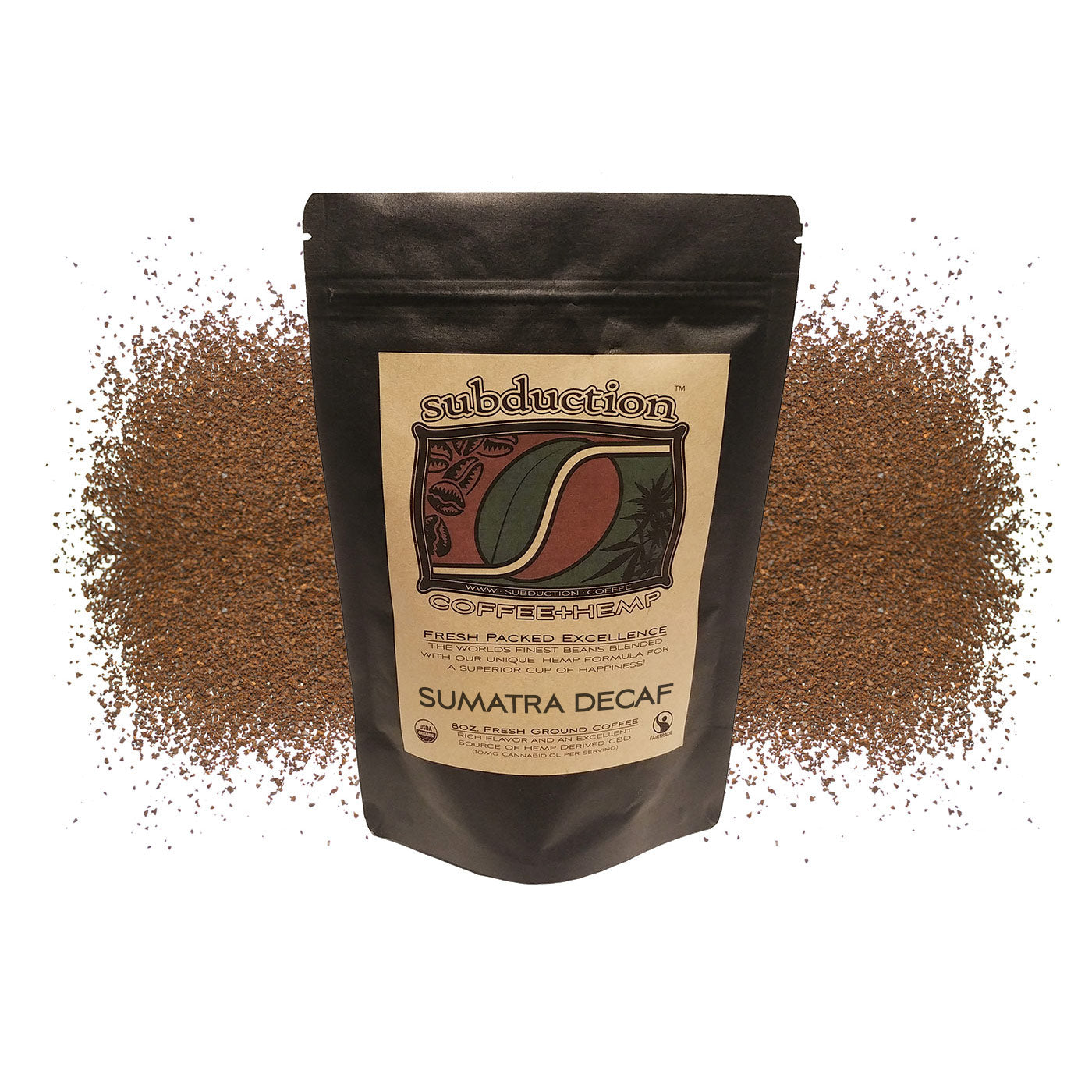 Sumatra Decaf Coffee - Bagged