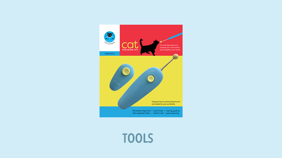 Clicker Training Toolkit For Cats