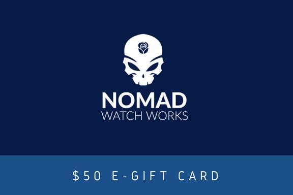 E-Gift Card - Nomad Watch Works Malaysia