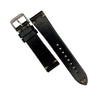 N2W Vintage Horween Leather Strap in Chromexcel® Black (20mm) - Nomad Watch Works Malaysia
