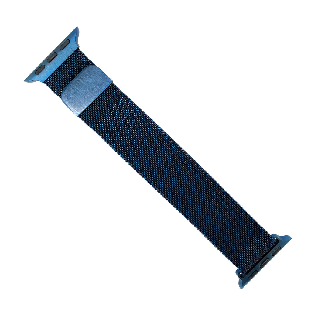 Apple Watch Milanese Mesh Strap in Blue (38 & 40mm) - Nomad Watch Works Malaysia