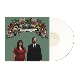 It's Our Favorite Time Of Year white vinyl front by Handsome and Gretyl