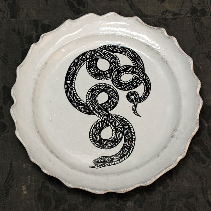 Serpent Dinner Plate {ASPPTC37}