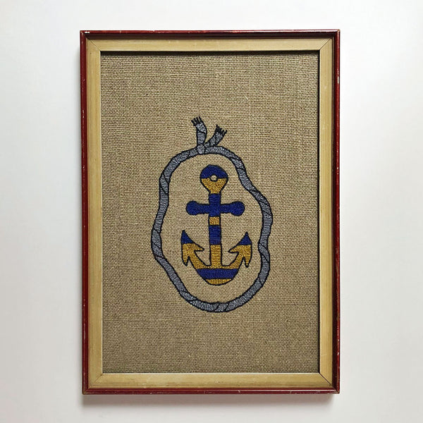 Carmella Carney Needlework Anchor with Rope