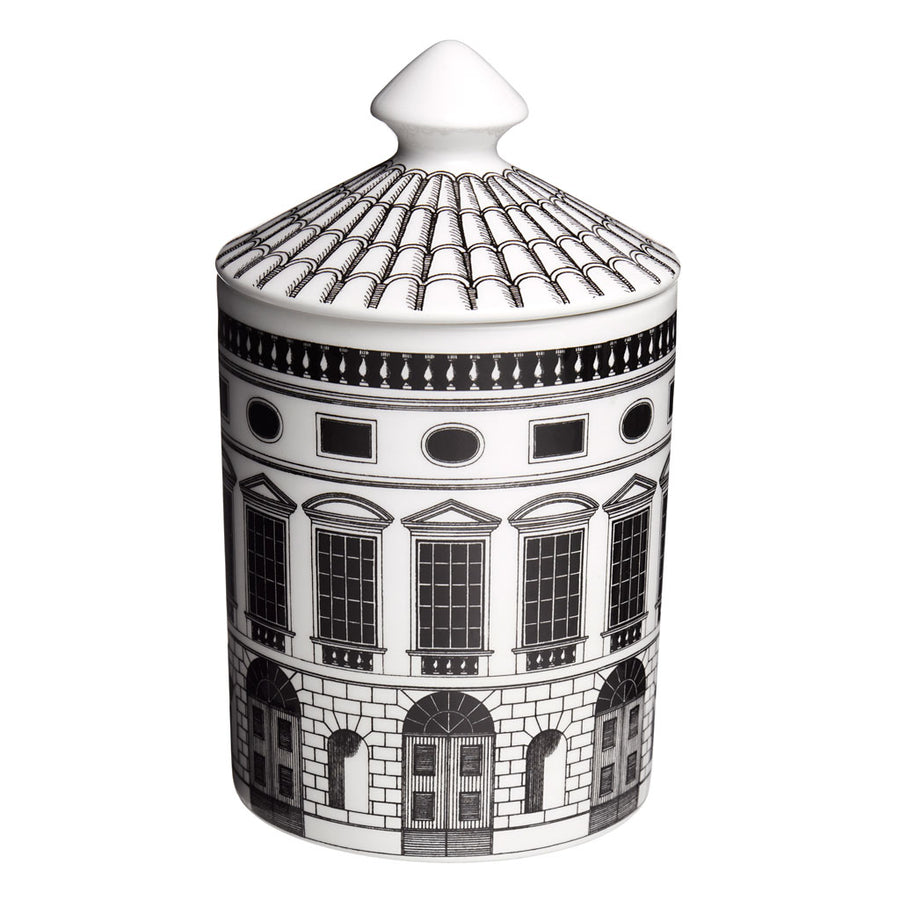 Fornasetti Architettura Candle with Lid