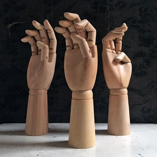 Articulated Wood Hand {114171}