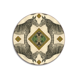 PATCH NYC Zebra Coaster Set {AVCZ}