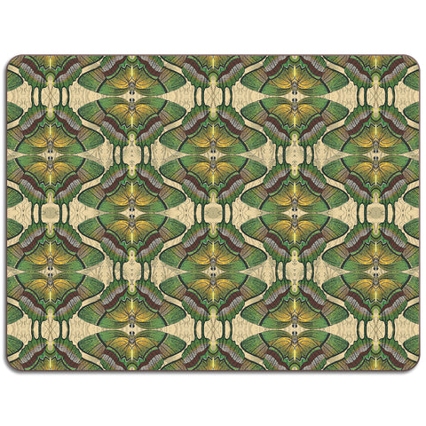 PATCH NYC Green Butterfly Table Mat {AVLTMGB}