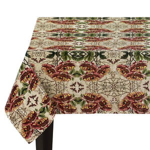 PATCH NYC Poppies Linen Tablecloth