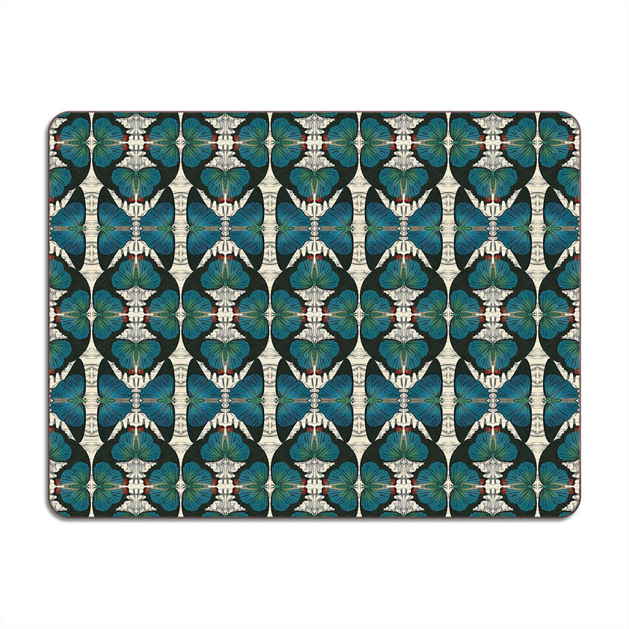 PATCH NYC Blue Butterfly Table Mat