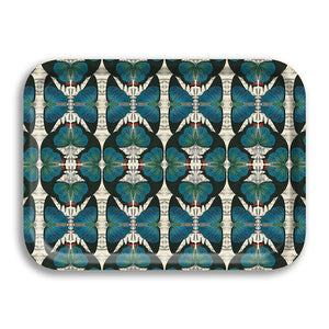 PATCH NYC Blue Butterfly Small Rectangle Tray