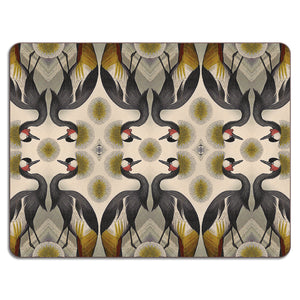 PATCH NYC Golden Crane Table Mat