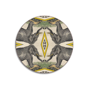 PATCH NYC Elephant Coaster Set
