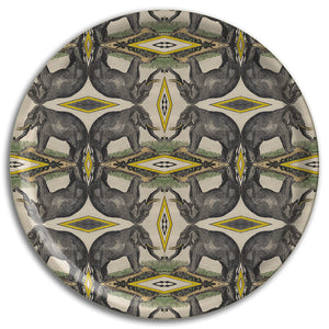 PATCH NYC Elephant Round Tray