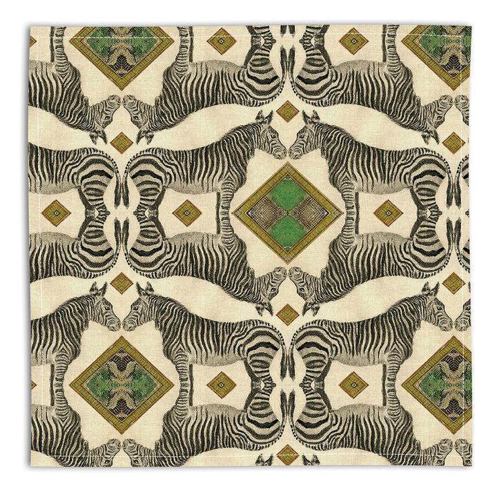PATCH NYC Zebra Linen Napkins