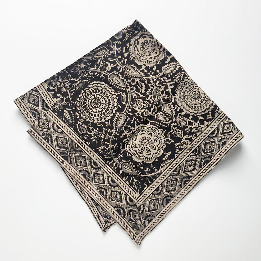 Block Print Napkins (set of 4)